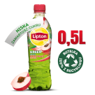 LIPTON ICE TEA Napój herbaciany o smaku białej brzoskwini z zieloną herbatą 500ml