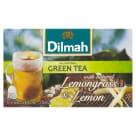 DILMAH Herbata zielona z trawą cytrynową i cytryną 20 torebek 30g