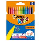 BIC Kids Kredki świecowe 12 kolorów 1szt