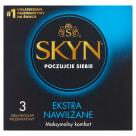 UNIMIL SKYN Prezerwatywy Extra Nawilżane 3 sztuki 1szt