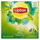 LIPTON Green Tea Herbata zielona aromatyzowana Mięta 20 torebek 32g