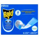 RAID Przeciw komarom Elektrofumigator owadobójczy (urządzenie i 10 wkładek) 1szt