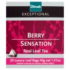 DILMAH Exceptional Herbata czarna Berry Sensation 20 torebek 40g