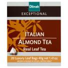 DILMAH Exceptional Herbata czarna Italian Almond Tea 20 torebek 40g