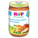 HIPP Jarzynki z kurczakiem i kluseczkami BIO - po 11 miesiącu 220g
