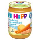 HIPP Marchewka z ziemniaczkami i łososiem - po 5 miesiącu 190g