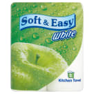 SOFT&EASY Ręcznik kuchenny biały 2 rolki 1szt