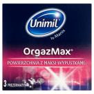 UNIMIL Prezerwatywy Orgazmax 3 sztuk 1szt