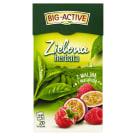 BIG-ACTIVE Herbata zielona z maliną i marakują 20 torebek 34g
