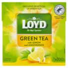 LOYD TEA Herbata zielona z cytryną i trawą cytrynową 20 torebek 34g