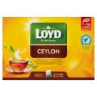 LOYD TEA Herbata czarna aromatyzowana Ceylon Sense 50 torebek 100g
