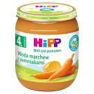 HIPP WARZYWA Młoda marchew z ziemniakami BIO - po 4 miesiącu 125g