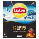 LIPTON INTENSE BLACK Herbata czarna 100 torebek 230g