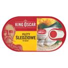 KING OSCAR Filety śledziowe w oleju 170g