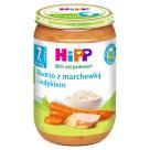 HIPP JUNIOR Risotto z marchewką i indykiem BIO - po 7 miesiącu 220g