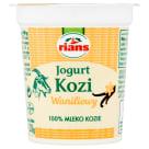 RIANS Jogurt kozi waniliowy 120g