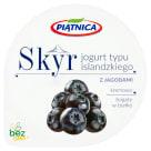 PIĄTNICA Skyr Jogurt typu islandzkiego z jagodami 150g