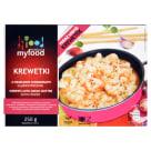 MY FOOD Krewetki obrane z sosem maślano-czosnkowym 250g