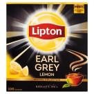 LIPTON Earl Grey Herbata czarna Lemon 100 torebek 200g