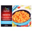 MY FOOD Krewetki obrane z sosem maślano-cytrynowym z chili 250g