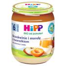 HIPP Owocowy Duet Brzoskwinie i morele z twarożkiem BIO - po 6 miesiącu 160g