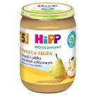 HIPP Owoce&Zboże Gruszki i jabłka z kleikiem orkiszowym BIO - po 5 miesiącu 190g