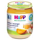 HIPP Owocowy Duet Jabłka i mango z twarożkiem BIO - po 9 miesiącu 160g