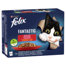FELIX® Fantastic Karma dla kotów - Wybór mięs w galaretce 12x100g 1.2kg