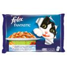 FELIX® Fantastic Karma dla kotów - Wybór mięs z warzywami w galaretce 4x100g 400g