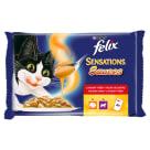 FELIX® Party MIX Karma dla kotów z indykiem i jagnięciną 4x100g 400g