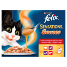 FELIX® Sensations Karma dla kotów - Wybór smaków 12x100g 1.2kg