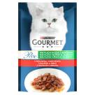 GOURMET Perle Pokarm dla kotów - wołowina,  marchewka 85g