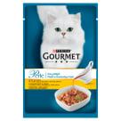 GOURMET Perle Pokarm dla kotów- Fileciki w smakowitym sosie z kurczakiem 85g