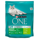 PURINA ONE Indoor Formuła Karma dla dorosłych kotów bogata w indyka i ziarna 800g