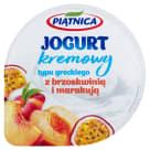 PIĄTNICA Jogurt typu greckiego z brzoskwinią i marakują 150g