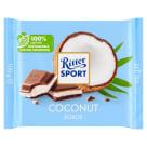 RITTER SPORT Czekolada mleczna z nadzieniem kokosowym 100g
