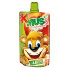 KUBUŚ Mus 100%  brzoskwinia, jabłko, banan, marchew 100g