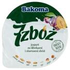 BAKOMA 7 zbóż Jogurt ze śliwkami i ziarnami zbóż 140g