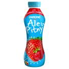 DANONE ale Pitny! Napój jogurtowy - truskawka i poziomka (butelka) 290g