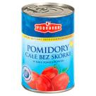 PODRAVKA Pomidory całe bez skórki w soku pomidorowym 400g