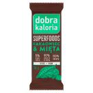 DOBRA KALORIA Superfoods Baton owocowy kakaowiec & mięta 35g