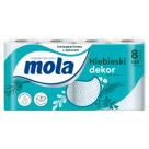MOLA Decor Papier toaletowy Dekorowany, 8 szt 1szt