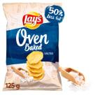 LAYS Oven Baked Pieczone formowane chipsy ziemniaczane solone 125g