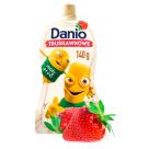 DANONE DANIO Serek homogenizowany truskawkowy - saszetka 140g