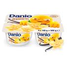 """DANONE DANIO Serek homogenizowany """"Multipack"""" 4x140g Wanilia 560g"""
