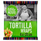 CASA DE MEXICO Wrapy pszenne (20 cm) - 6 szt. 1szt