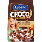 LUBELLA MLEKOŁAKI Mlekołaki Choco Muszelki Zbożowe muszelki o smaku czekoladowym 500g