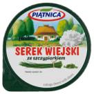 PIĄTNICA Serek wiejski ze szczypiorkiem 150g