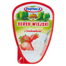 PIĄTNICA Serek wiejski z truskawkami 150g