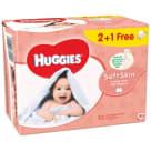 HUGGIES Soft Skin Chusteczki nawilżane 2+1 (3 x 56 szt.) 1szt